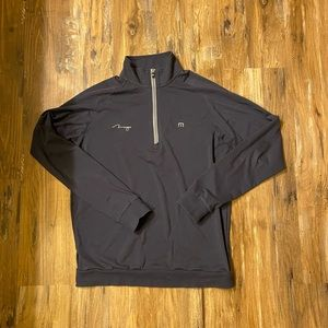 Travis Mathews 1/4 zip (Med)
